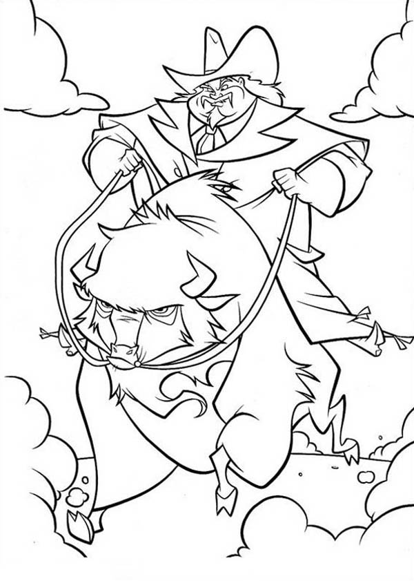 Home On The Prairie, : Home on the Prairie Riding Mad Bison Coloring Pages