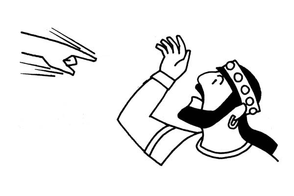 bible coloring pages nebuchadnezzar - photo#42