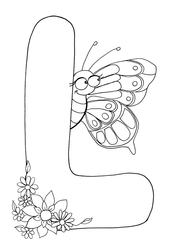 Letter l, : Letter L Coloring Page Animal Edition