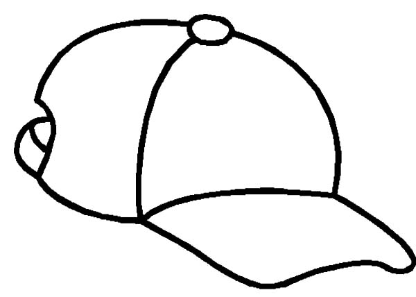 Hat, : My Daily Hat Coloring Pages