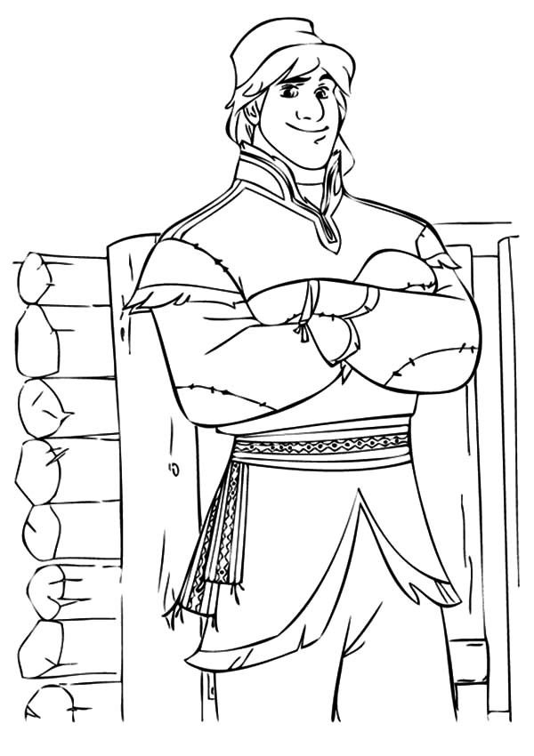 Hans, : Prince Hans Rival Kristoff Coloring Pages