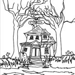quirky houses coloring pages - photo#3