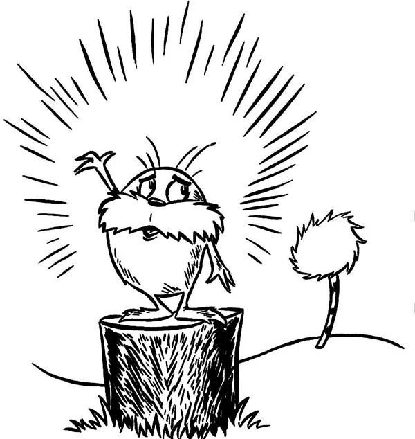The Lorax, : The Lorax and the Last Truffula Tree Coloring Pages