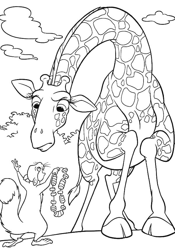 The Wild, : The Wild Benny Show Bridget Ryan Necklace Coloring Pages