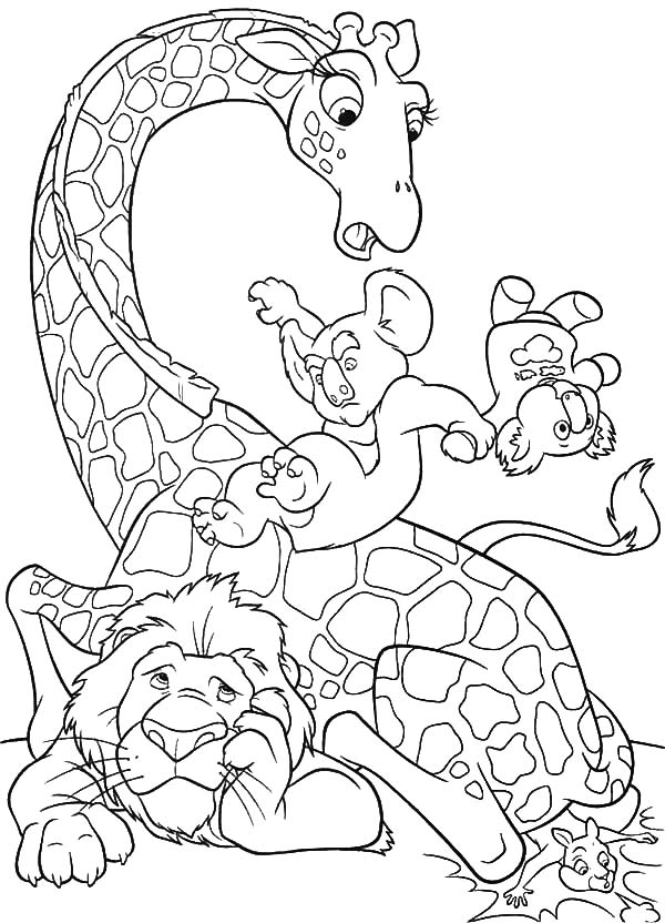 The Wild, : The Wild Fun Time Coloring Pages