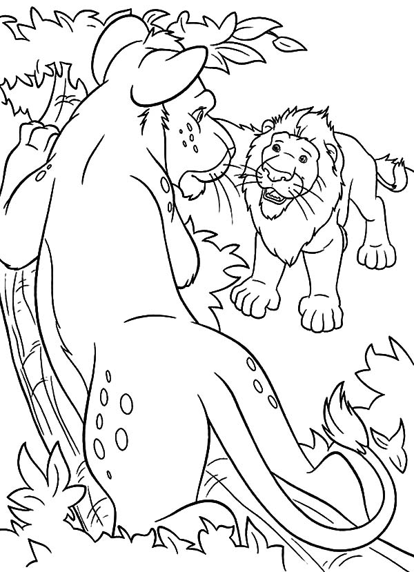 The Wild, : The Wild Samson Persuade Ryan Coloring Pages