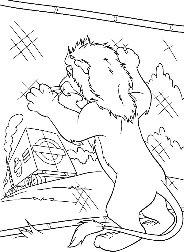 The Wild, : The Wild Samson Watch His Taken Away by Truck Coloring Pages
