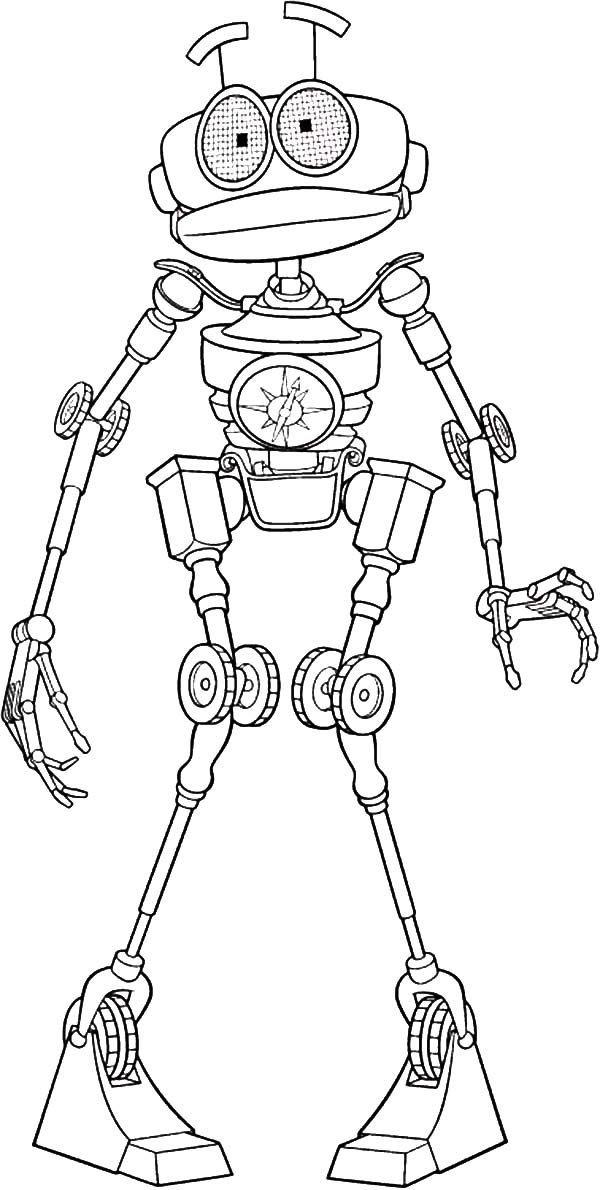 Treasure Planet, : Treasure Planet Character B.E.N Coloring Pages